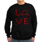 Love Alaska Sweatshirt (dark)