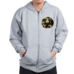 Smiley Bar Zip Hoodie