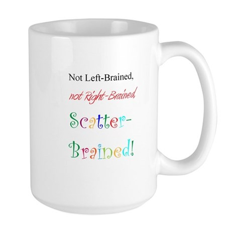 Scatter-Brained! Large Mug