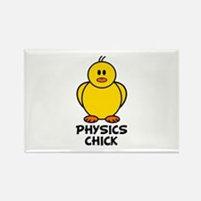 Physics Chick Rectangle Magnet (10 pack)