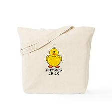 Physics Chick Tote Bag