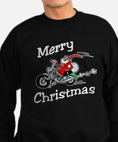 Motorcycle Santa Jumper Sweater
