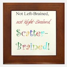 Scatter-Brained! Framed Tile