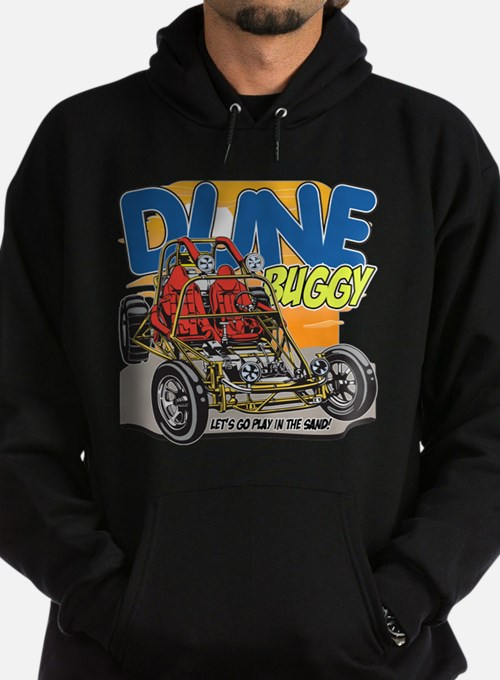 Dune Buggy Let's Go Play in the Sand Hoodie (dark)
