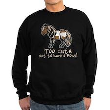 Too Cute Pony Jumper Sweater