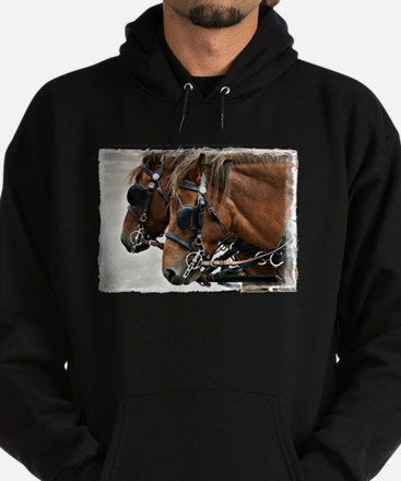Carriage Horse Hoodie (dark)