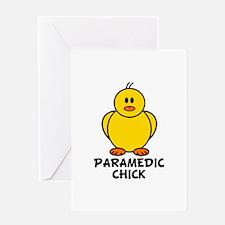 Paramedic Chick Greeting Card