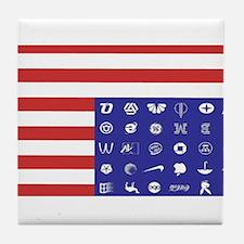 Cute Corporate Tile Coaster