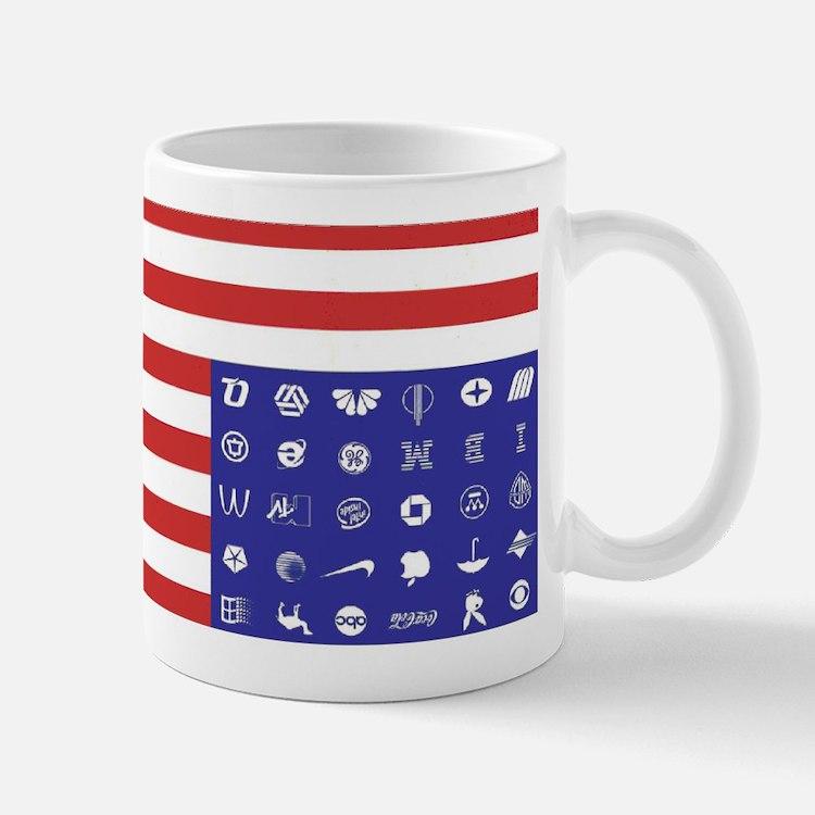 Cute Corporate flag Mug