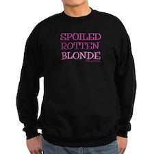 Spoiled Rotten Blonde Sweatshirt