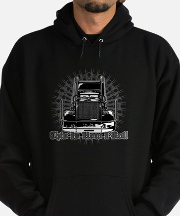 This is How I Roll Hoodie (dark)