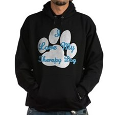 Love My Therapy Dog Hoodie