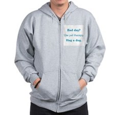 Bad Day Therapy Zip Hoodie