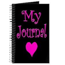 My Journal w/ Heart Design Journal