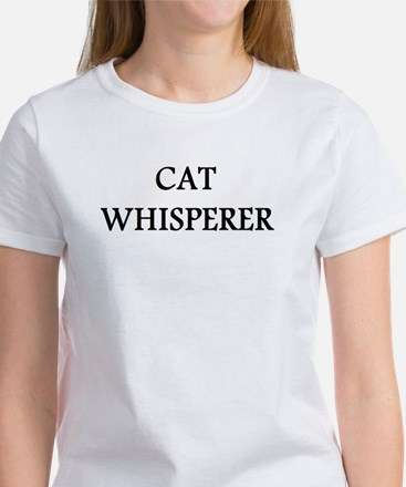 Cat Whisperer Women's T-Shirt