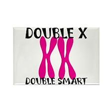 Double X, Double Smart Rectangle Magnet