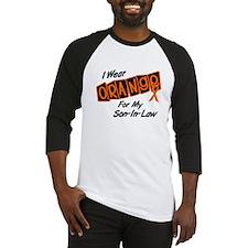 I Wear Orange For My Son-In-Law 8 Baseball Jersey