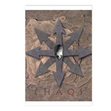 Chaos Sign Skull & Arrows Postcards (Package of 8)