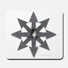 Chaos Sign Skull & Arrows Mousepad