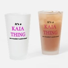 It's a Kaia thing, you wouldn&# Drinking Glass