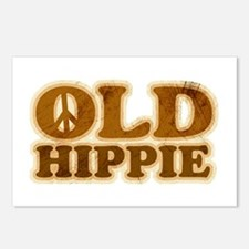 Old Hippie Peace Postcards (Package of 8)