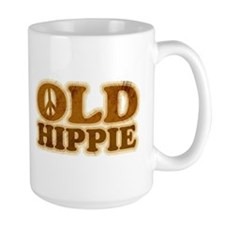 Old Hippie Peace Mug
