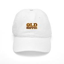 Old Hippie Peace Baseball Cap