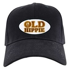 Old Hippie Peace Baseball Hat