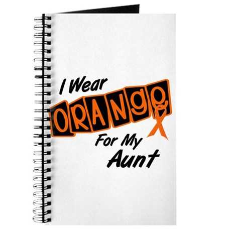 I Wear Orange For My Aunt 8 Journal