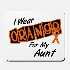 I Wear Orange For My Aunt 8 Mousepad