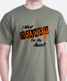 I Wear Orange For My Aunt 8 T-Shirt