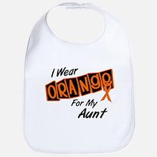 I Wear Orange For My Aunt 8 Bib
