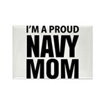 Proud: Navy For Moms Rectangle Magnet