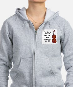 I've Got a Cello Zip Hoodie