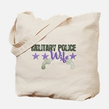Military Police Wife Tote Bag