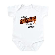 I Wear Orange For My Uncle 8 Infant Bodysuit