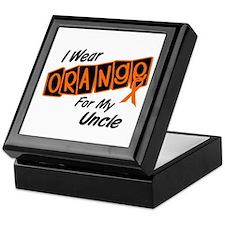 I Wear Orange For My Uncle 8 Keepsake Box