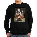 Vintage Queen of Hearts Sweatshirt (dark)