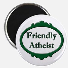 """Friendly Atheist 2.25"""" Magnet (10 pack)"""