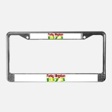 Funky Kingston 1973 License Plate Frame