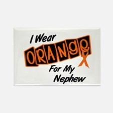 I Wear Orange For My Nephew 8 Rectangle Magnet