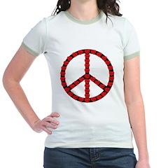 Peace Symbol Hearts T