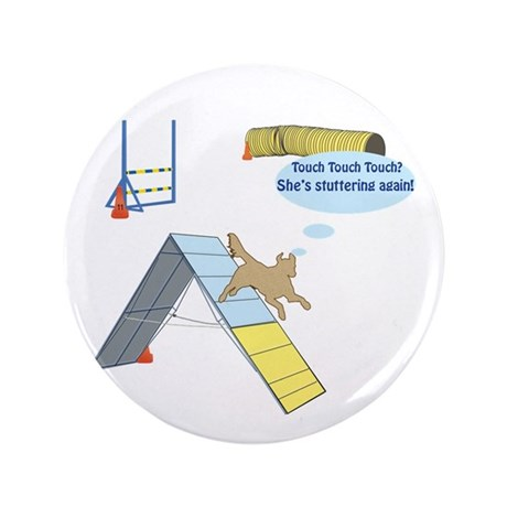 """Touch Touch Touch 3.5"""" Button (100 pack)"""