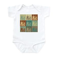Farming Pop Art Infant Bodysuit