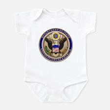 State Dept. Emblem Infant Bodysuit