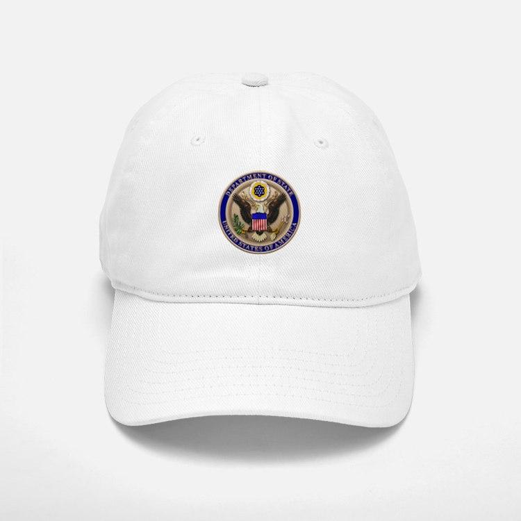 State Dept. Emblem Baseball Baseball Cap