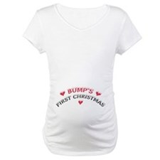 Bump's First Christmas Maternity Shirt