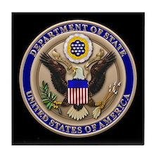 State Dept. Emblem Tile Coaster