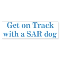 On Track with SAR Bumper Sticker (10 pk)