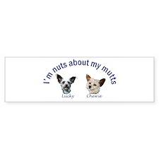 Lucky and Chewie Bumper Sticker (10 pk)